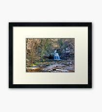 Autumn at Cauldron Falls Framed Print