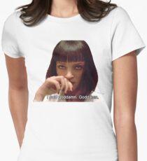Pulp Fiction - Mia Wallace Face T-Shirt