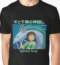 Spirited Away -  Haku and Chihiro - (Designs4You) - Studio Ghibli Graphic T-Shirt
