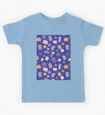Christmas seamless pattern Kids Tee