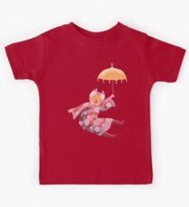 Magic Cat with Parasol Kids Tee