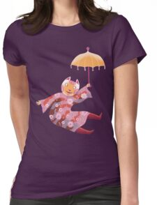 Magic Cat with Parasol T-Shirt