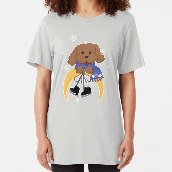 Vicchan on Ice Slim Fit T-Shirt