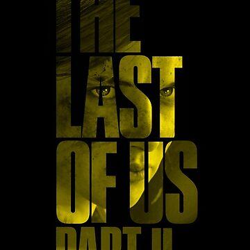 "The Last Of Us Parte 2 ""Vengeful Ellie"" (amarillo) de Doge21"