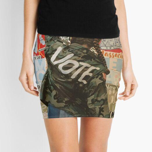 Vote! Mini Skirt
