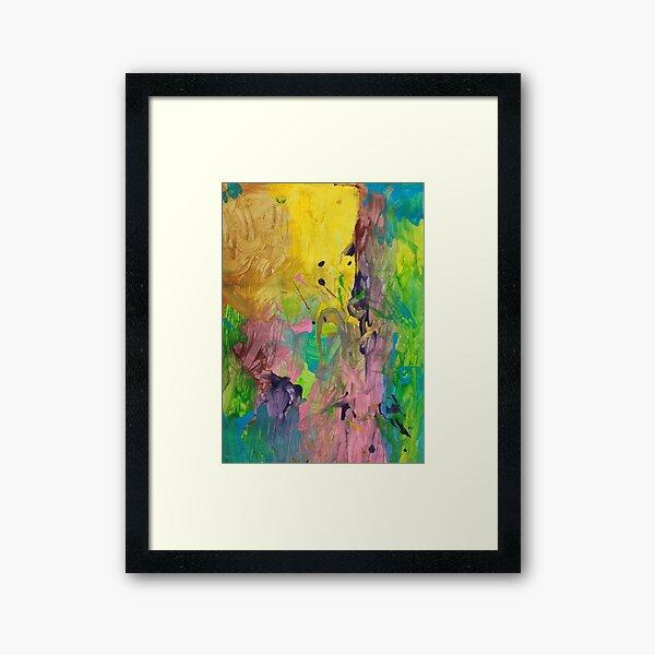Splashes of Colour Framed Art Print