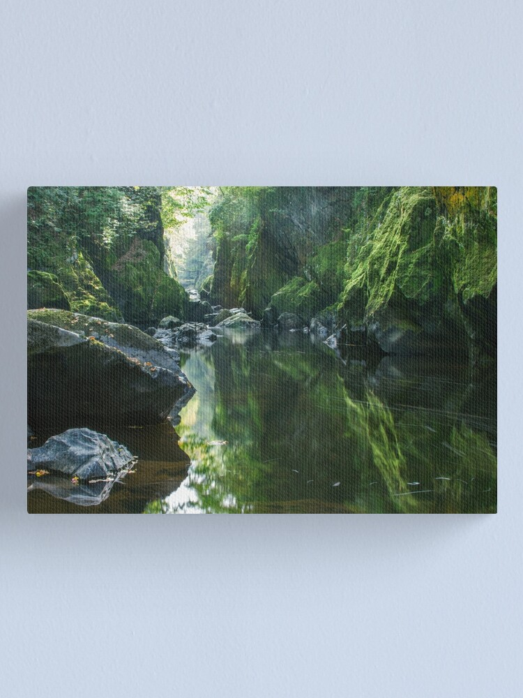 Alternate view of Wales - The Fairy Glen ,  Betws-y-Coed Canvas Print