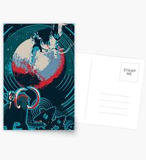 lost in space Postcards