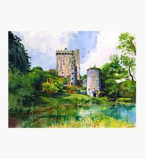 Blarney Castle Ireland Photographic Print