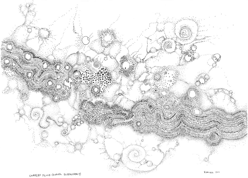 Complex fluid A novel Surfactancy by Regina Valluzzi