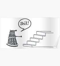 Shit Dalek Poster