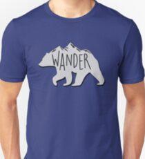 Wanderbär Berg Slim Fit T-Shirt