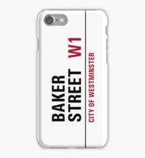 Baker Street sign iPhone Case/Skin