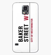 Baker Street sign Case/Skin for Samsung Galaxy