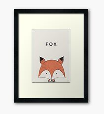 Fox head | Animals Framed Print