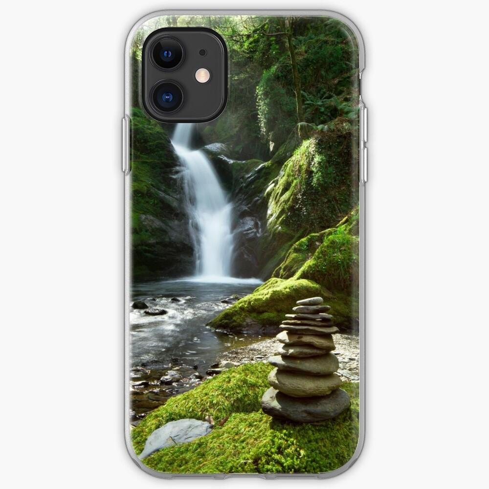 Wales - Dolgoch Falls 2 iPhone Case & Cover