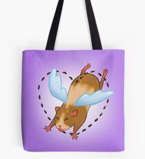 Guinea Pig Angel poop Tote Bag