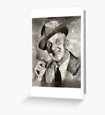 Jimmy Durante, Comedian Greeting Card