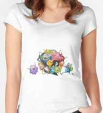 adventure time drawing Women's Fitted Scoop T-Shirt
