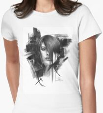 High Contrast Women's Fitted T-Shirt