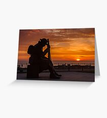 Tommy At Sunrise Greeting Card