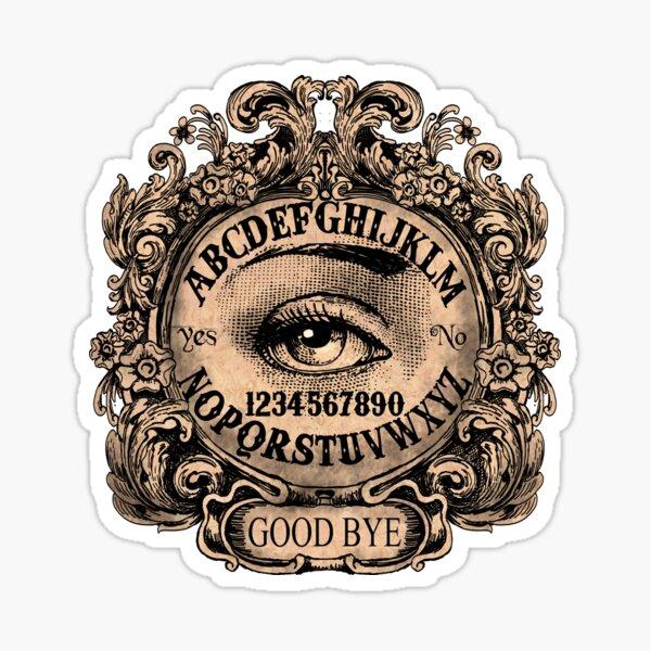 Witch Board with Mystic Eye Sticker