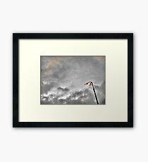 Pixel sky Framed Print