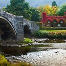 Wales -  Llanrwst Cottage by Angie Latham