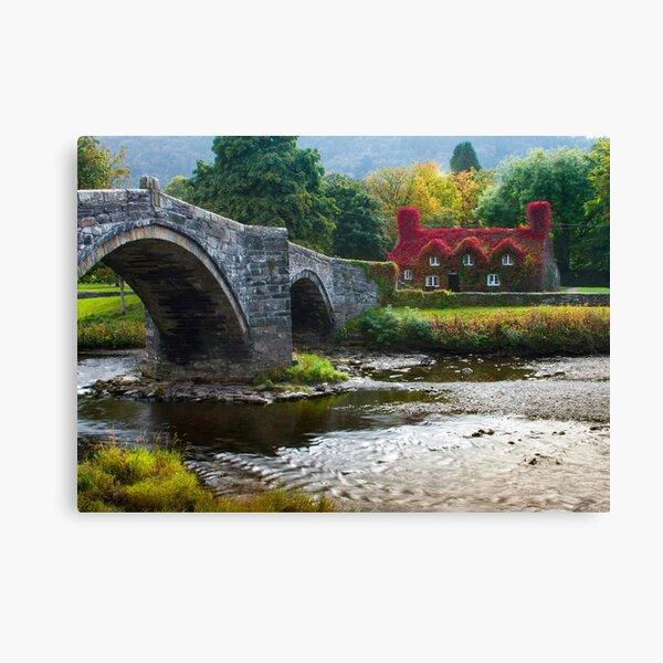 Wales -  Llanrwst Cottage Canvas Print