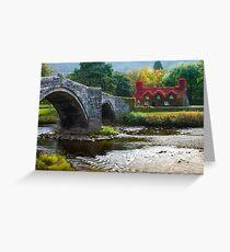 Wales -  Llanrwst Cottage Greeting Card