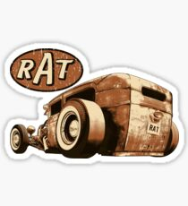 RAT - Rearview Sticker