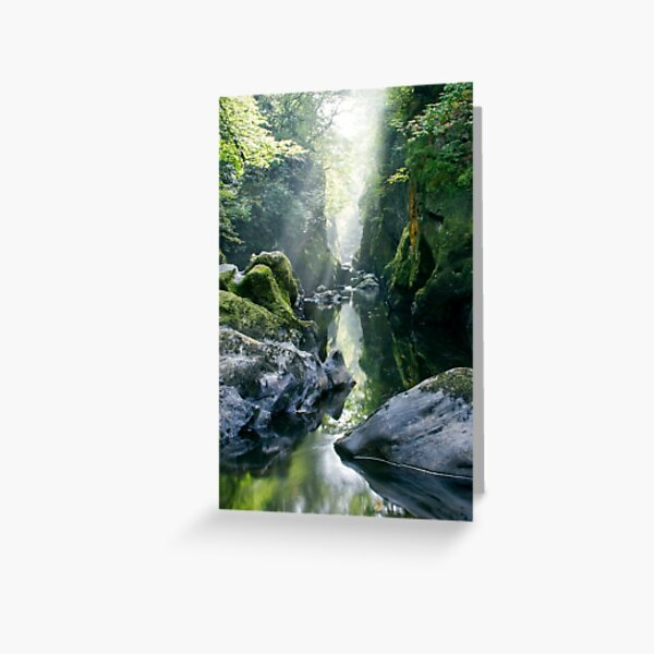 Wales - The Fairy Glen , Betws-y-Coed 2 Greeting Card