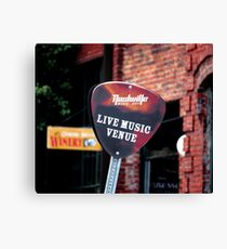 Music City Live Venue Canvas Print