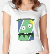 Don't Hug Me I'm Scared Can  Women's Fitted Scoop T-Shirt