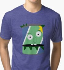 Don't Hug Me I'm Scared Can  Tri-blend T-Shirt