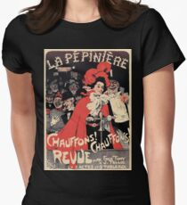 French Belle epoque musical revue ad Heat It Up T-Shirt