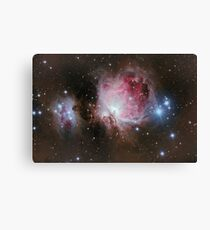 Deep space: Orion Nebula (Messier M42) Canvas Print
