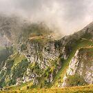 Caraiman Hut, Bucegi Mountains, Romania by AJM Photography