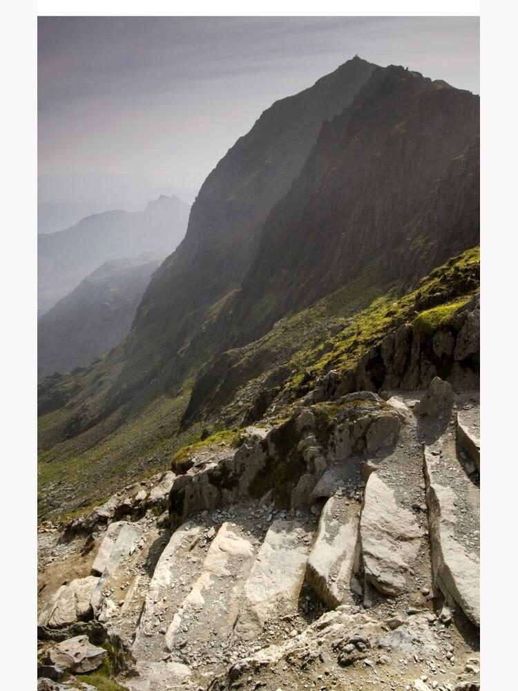Snowdonia - Snowdon Summit by AngelaBarnett