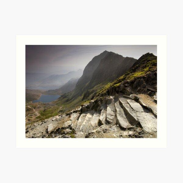 Snowdonia - Snowdon Summit Art Print