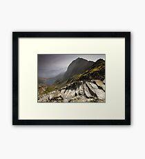 Snowdonia - Snowdon Summit Framed Print