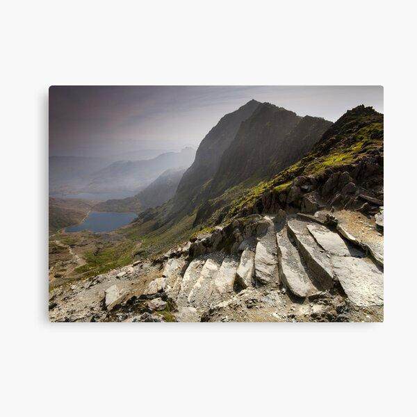 Snowdonia - Snowdon Summit Canvas Print