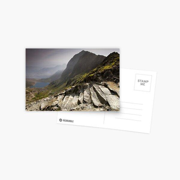 Snowdonia - Snowdon Summit Postcard