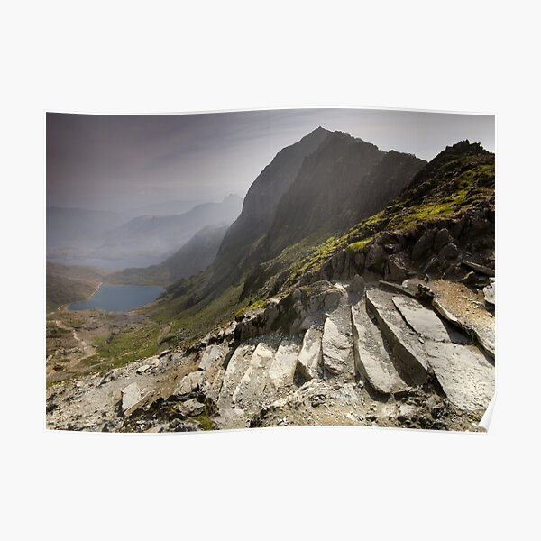 Snowdonia - Snowdon Summit Poster