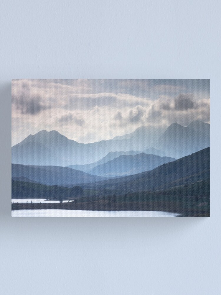 Alternate view of Snowdonia - Snowdon and her Sisters Canvas Print
