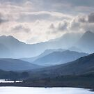 Snowdonia - Snowdon and her Sisters by Angie Latham