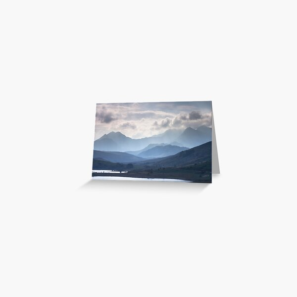 Snowdonia - Snowdon and her Sisters Greeting Card