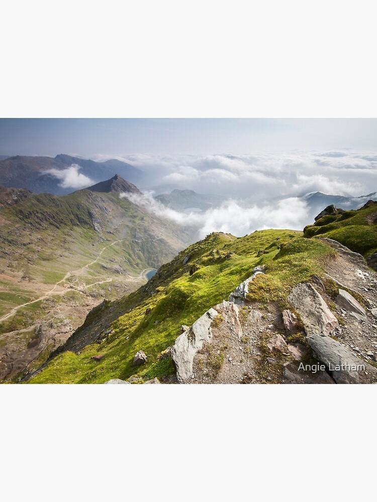 Wales - View from Snowdon by AngelaBarnett