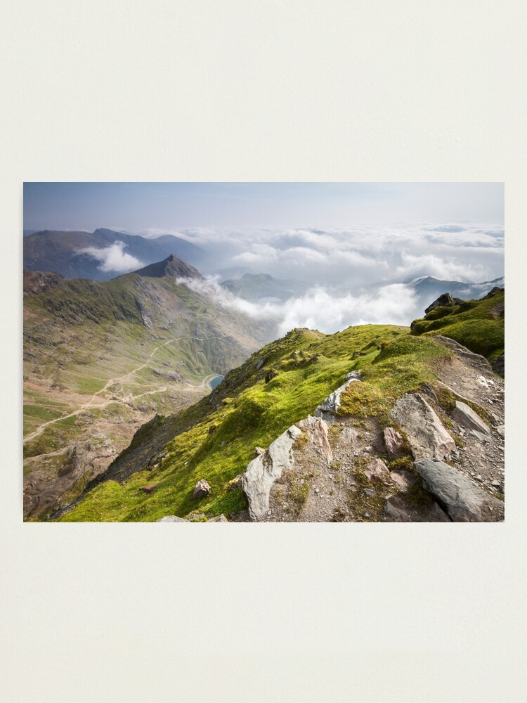 Alternate view of Wales - View from Snowdon Photographic Print