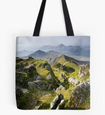 Snowdonia- View from Snowdon 2 Tote Bag